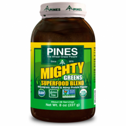 Mighty Greens Superfood Blend, 8 oz (227 grams) Pwdr