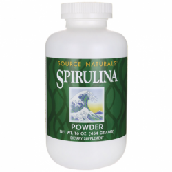 Spirulina Powder, 16 oz (454 grams) Pwdr