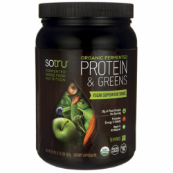 Organic Fermented Protein & Greens, 20 oz (567 grams) Pwdr