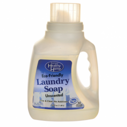 EcoFriendly Laundry Soap Unscented, 50 fl oz (1.48 L) Liquid