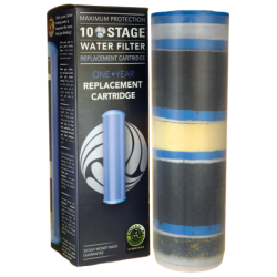 10 Stage Water Filter Replacement Cartridge, 1 Unit