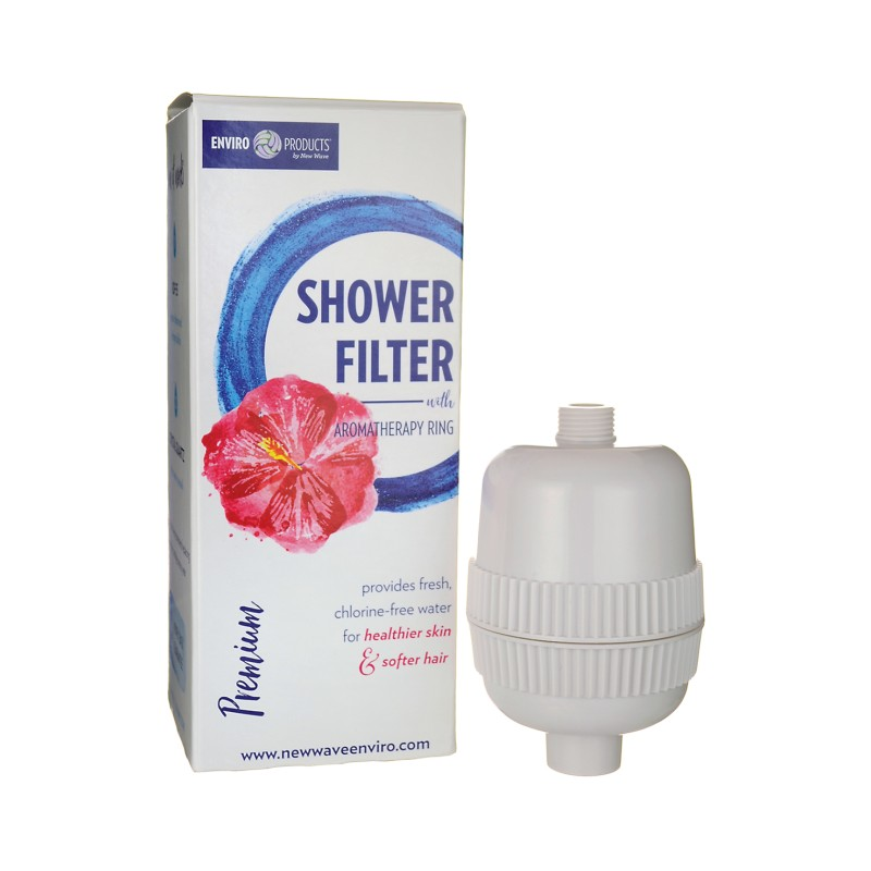 Premium Shower Filter with Aromatherapy Ring, 1 Unit