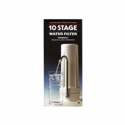 10 Stage Water Filter System, 1 Unit