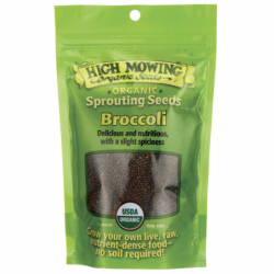 Sprouting Seeds Broccoli, 3 oz Pkts