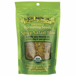 Sprouting Seeds Spicy Salad Mix, 4 oz Pkts