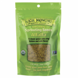 Sprouting Seeds Alfalfa, 3 oz Pkts