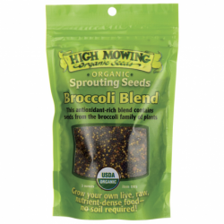 Sprouting Seeds Broccoli Blend, 3 oz Pkts