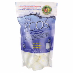 Ultra ECOS Laundry Detergent Pods Free and Clear, 20 Ct