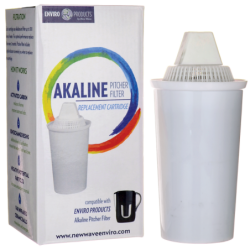 Alkaline Pitcher Filter Replacement Cartridge, 1 Unit