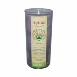Happiness Chakra Energy Jar Candle, 1 / 11 oz Jar
