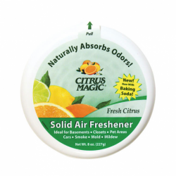 Solid Air Freshener Fresh Citrus, 8 oz Unit