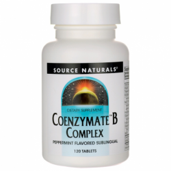 Coenzymate B Complex  Peppermint Flavored Sublingual, 120 Tabs