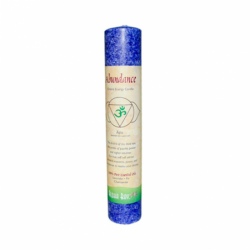 Abundance Chakra Energy Pillar Candle  8, 1 Unit
