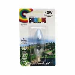 Clear Chandelier Bulb, 40 Watt 1 Unit
