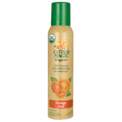 Organic Odor Eliminating Air Freshener  Orange Zest, 3.5 fl oz (103 mL) Liquid