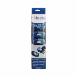 Portable Pill Pods, 7 Unit