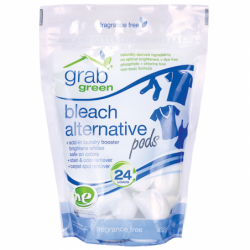 Bleach Alternative Pods  Fragrance Free, 24 Ct