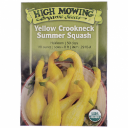 Yellow Crookneck Summer Squash, 1 Pkts