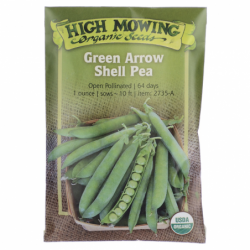 Green Arrow Shell Pea, 1 Pkts