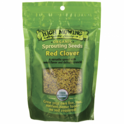 Sprouting Seeds Red Clover, 4 oz Pkts