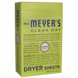 Clean Day Dryer Sheets  Lemon Verbena, 80 Ct