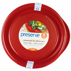 Everyday Large Plates Pepper Red, 4 Pack(s)