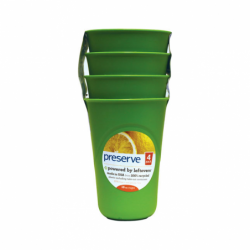 Everyday Cups Apple Green, 4 Pack(s)
