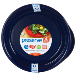 Medium Plates 95 in  Midnight Blue, 4 Pack(s)