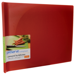 Large Cutting Board 14 in x 11 in  Red, 1 Unit