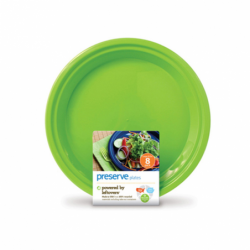 Large Plates 105 in  Green, 8 Pack(s)