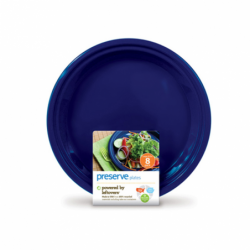 Large Plates 105 in  Midnight Blue, 8 Pack(s)