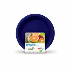 Small Plates 7 in  Midnight Blue, 10 Pack(s)
