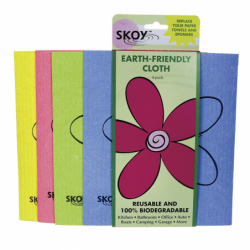 Reusable MultiUse Cleaning Cloth  Assorted Colors, 4 Pack(s)