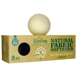Natural Fabric Softener  Wool Dryer Balls, 3 Ct