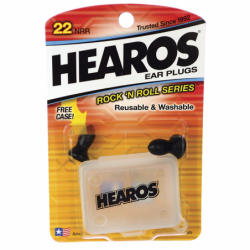 Ear Plugs with Case  Rock n Roll Series, 2 Ct