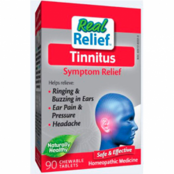 Real Relief Tinnitus Symptom Relief, 90 Chwbls