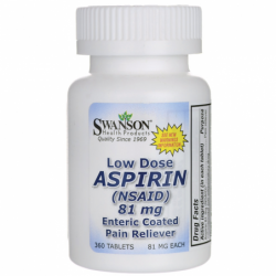 Low Dose Aspirin Enteric Coated, 81 mg 360 Tabs
