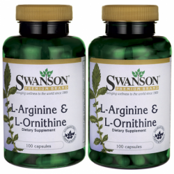 LArginine & LOrnithine, 500/250 mg 200 Caps