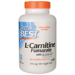 LCarnitine Fumarate with Biosint, 855 mg 180 Veg Caps