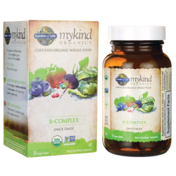 Mykind Organics BComplex Once Daily, 30 Vegan Tabs