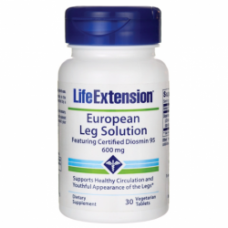 European Leg Solution Featuring Certified Diosmin95, 600 mg 30 Veg Tabs