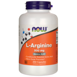 LArginine, 500 mg 250 Caps