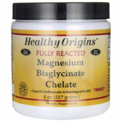Magnesium Bisglycinate Chelate, 200 mg 8 oz (227 grams) Pwdr