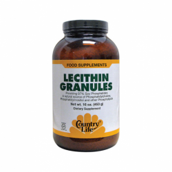 Lecithin Granules, 16 oz (453 grams) Pwdr