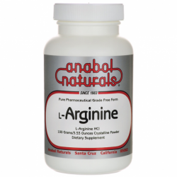 LArginine, 3.53 oz (100 grams) Pwdr