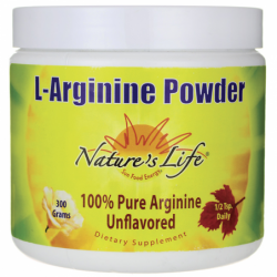 LArginine Powder, 300 grams Pwdr