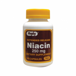 Extended Release Niacin, 250 mg 100 Caps