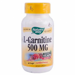 LCarnitine, 500 mg 60 Vcaps