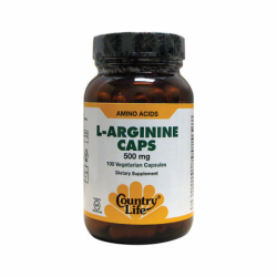 LArginine Caps, 500 mg 100 Veg Caps