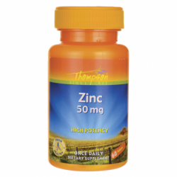 High Potency Zinc, 50 mg 60 Tabs